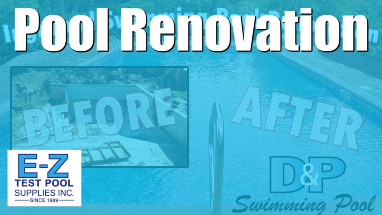 Swimming Pool Renovation In Hd Inground Pool Remodel