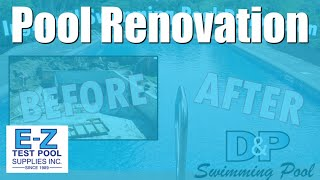 Swimming Pool Renovation In Hd! Inground Pool Remodel & Construction