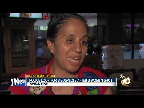 Three women shot in Oceanside stripmall