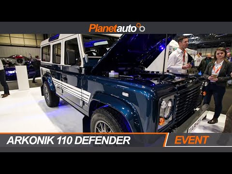 Arkonik 1984 Land Rover Defender 110 6.2L LS3 Tarox AutoSport Performance & Tuning 2019