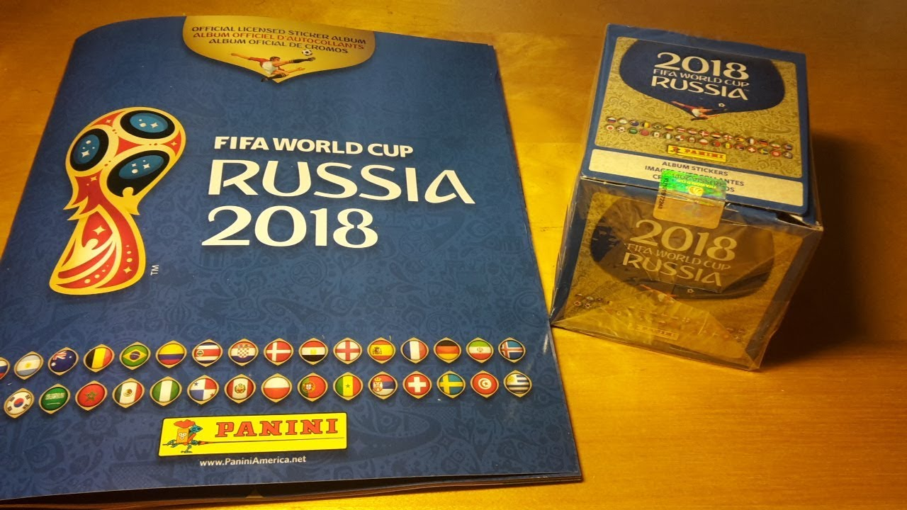 b43b891bf 2018 Panini World Cup Russia Stickers Collection Box Break and Album Review