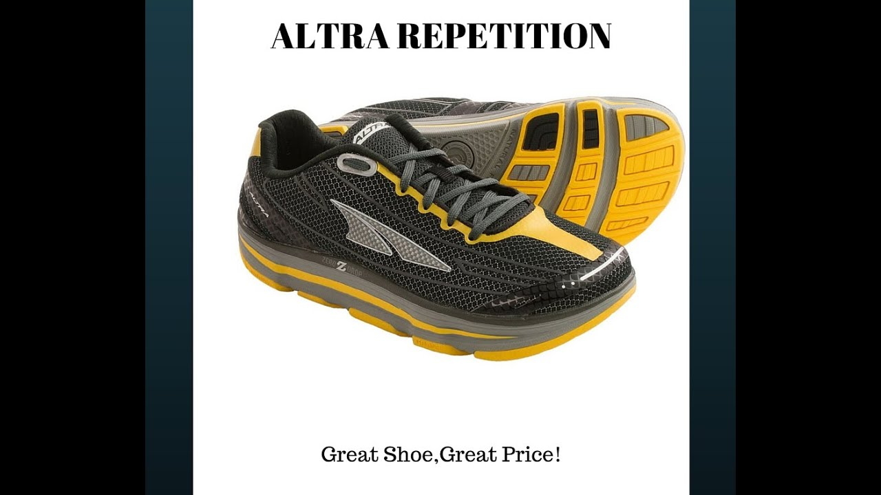 classic fit amazing selection best sneakers Altra Repetition Review