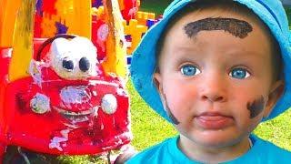 Así es como se lavan los juguetes | Canción Infantil | Canciones Infantiles con Katya y Dima
