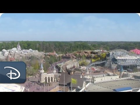 Time-Lapse: Seven Dwarfs Mine Train in New Fantasyland | Walt Disney World