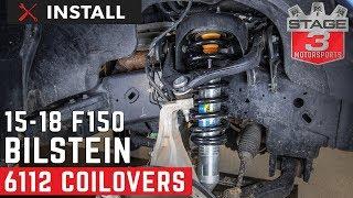 2015-2018 F150 Bilstein B8 6112 Front Suspension Kit Install