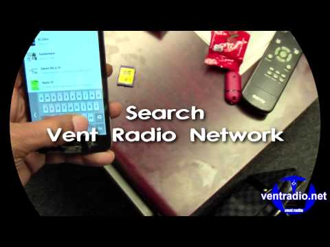 Vent Radio Tunein Tutorial