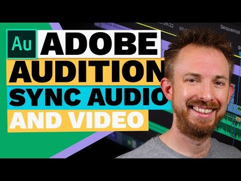 Easily Sync Audio and Video in Adobe Audition (Spot Video Frame Preview)