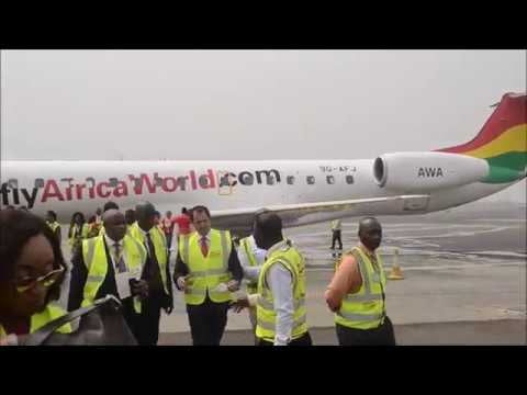 Africa World Airlines welcomes its 5th aircraft