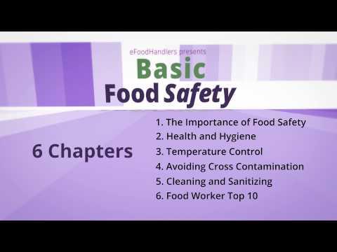 Basic Food Safety: Introduction (English)