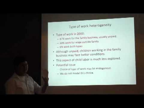 FKP 2012 07 18 - Daniel Suryadarma - The Consequences of Child Market Work on Human Capital