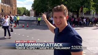 Driver suspected of terrorism after car crashes into a barrier near UK Parliament ABC News