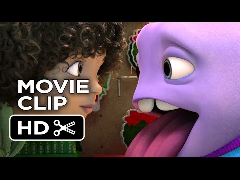 Home Movie CLIP - Into the Out (2015) - Jim Parsons, Rihanna Animated Movie HD