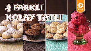 4 Farklı Kolay Tatlı Tarifi - Onedio Yemek - Tek Malzeme Çok Tarif
