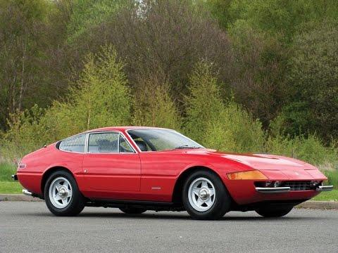 1973 Ferrari 365 GTB 4 Daytona Berlinetta by Scaglietti