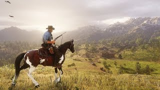 Red Dead Redemption 2 - Wildlife Animals, Hunting, Horses Combat & Story New Gameplay Images