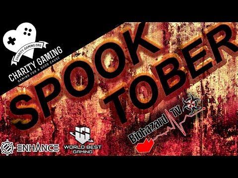 ☣ Spooktober Biohazard Tv's Charity-Gaming.org Marathon: Glitterfartso ☣