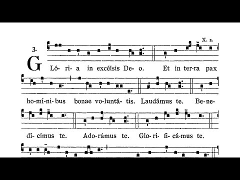 Missa XIV (Jesu Redemptor) - in octaves that are not about the Blessed Virgin Mary - Gloria