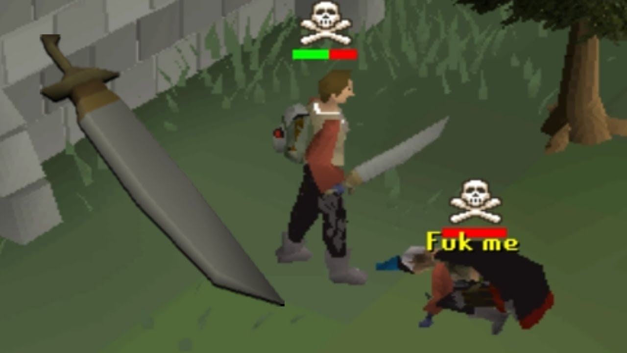 Pking With The New Granite Longsword Low Level