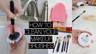 美妝刷怎麼洗都不乾淨?如何讓刷子、美妝蛋乾淨溜溜!