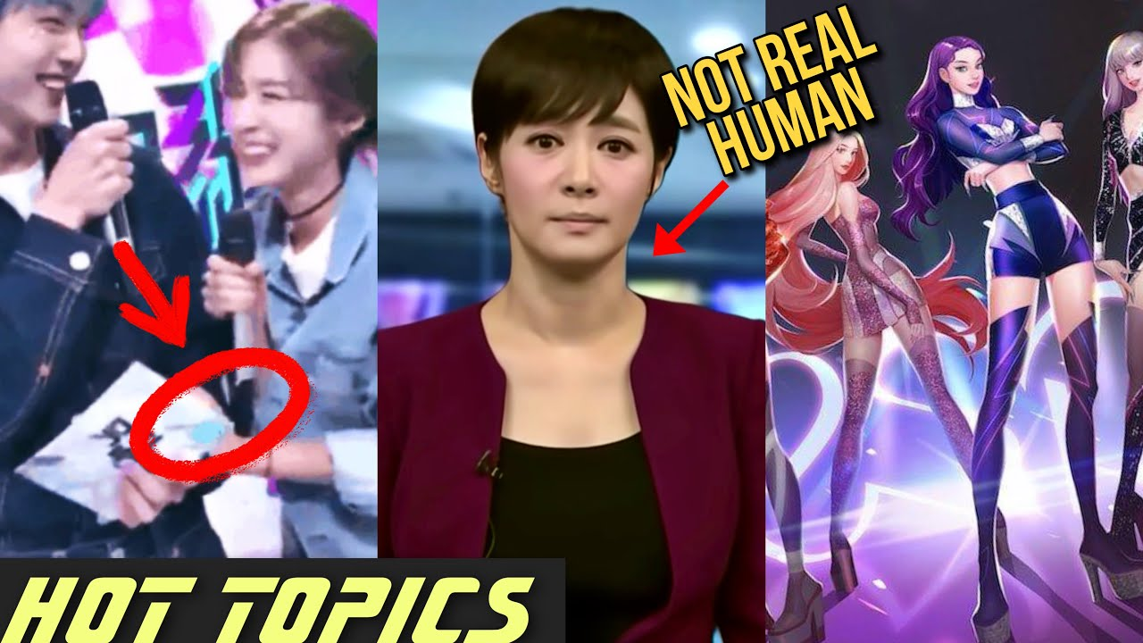Oh My Girl Touching TXT / AI Takes Over Korea / Black Swan Hyeme Fraud? | HOT TOPICS