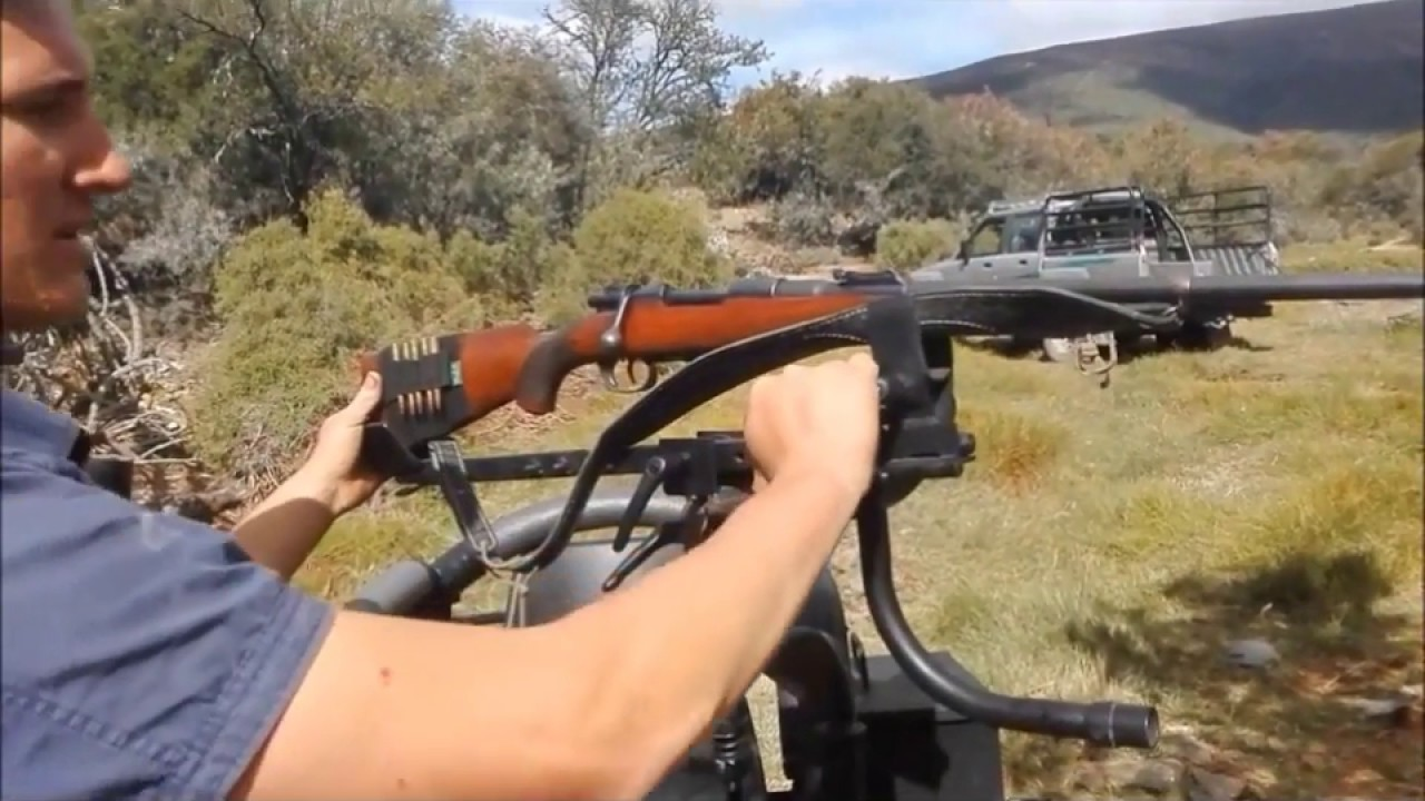 Predator Hunting Chair Outdoor Directors Chairs Alan Truter - Jakkals Skietstoel Youtube
