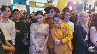 Quang Trung, Huỳnh Lập, Khả Như cười như được mùa khi xem trailer Pháp Sư Mù