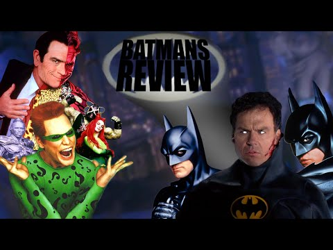 BATMAN (1989-1997) REVIEWS • ActualNose