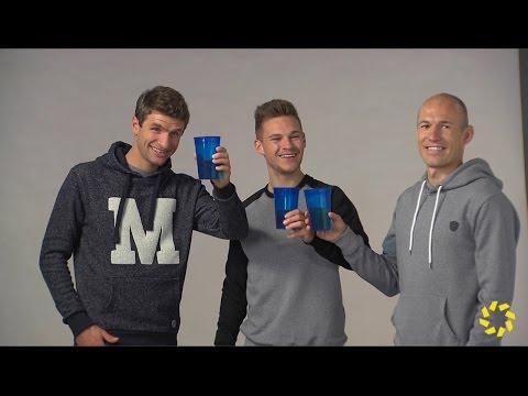 Thomas Müller, Joshua Kimmich und Arjen Robben sprechen über die Meisterschaft