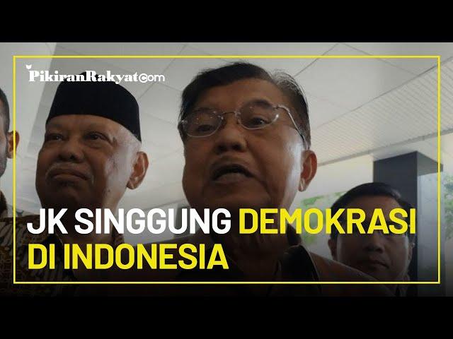 Jusuf Kalla: Jokowi Minta Mayarakat Kritik Pemerintah, Bagaimana Caranya Tanpa Dipanggil Polisi?