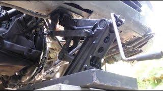 Автомобильный подъёмник из домкрата ВАЗ 2110.(, 2017-06-28T16:58:02.000Z)