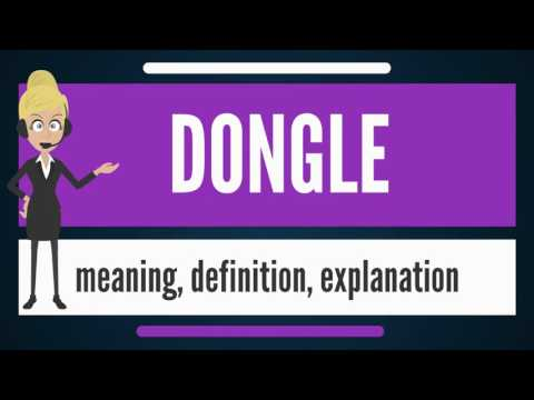 what-is-dongle?-what-does-dongle-mean?-dongle-meaning,-definition-&-explanation