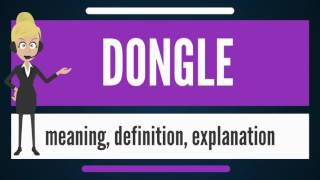 What is DONGLE? What does DONGLE mean? DONGLE meaning, definition & explanation