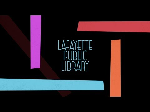 Summer Reading 2018 @ The Lafayette Public Library