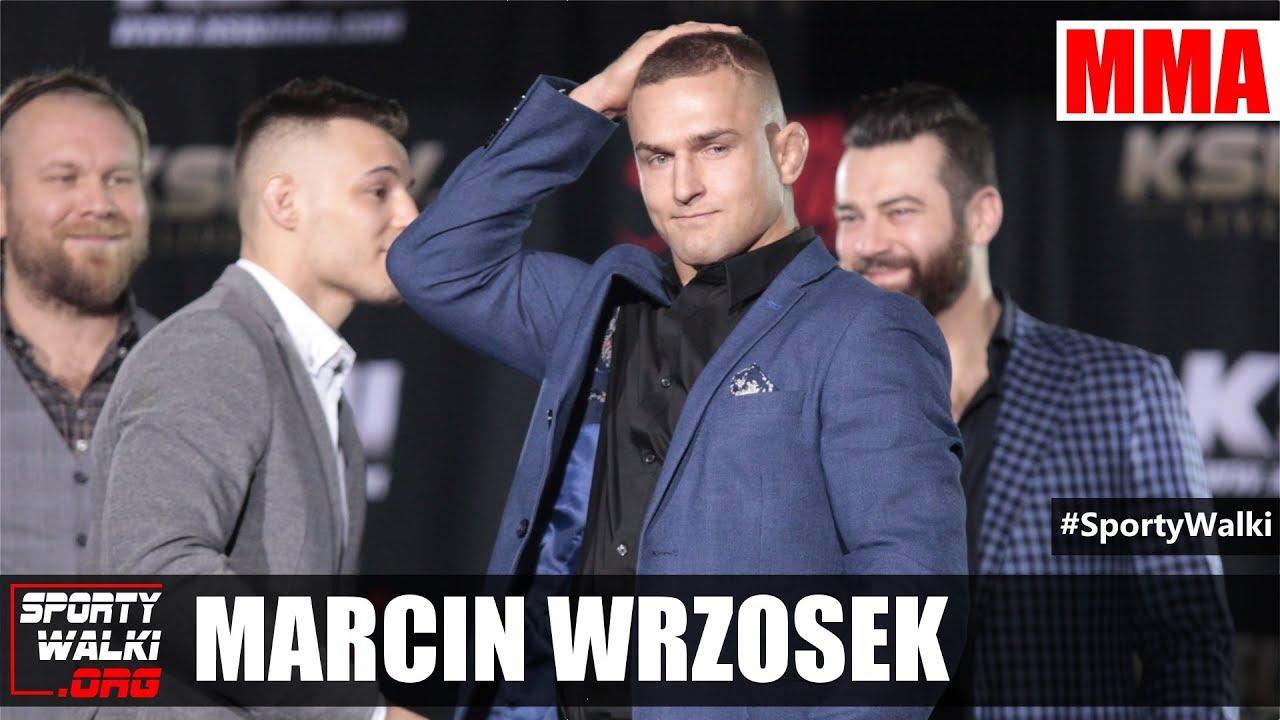 """Marcin Wrzosek: Pas KSW jest jak pierścień we """"Władcy Pierścieni"""""""