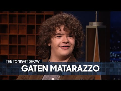 "Gaten Matarazzo talks about running tables at a Jersey Shore restaurant during the COVID-19 pandemic, Season 4 of ""Stranger Things"" and his TV show ""Prank Encounters"" on The Tonight Show Starring Jimmy Fallon."