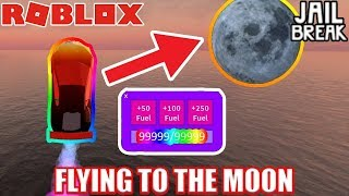 [ROBLOX] JailBreak! The Flying Monster Truck in to the MOON