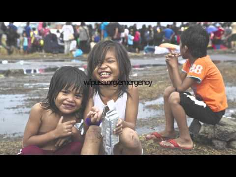 World Food Programme Delivering Emergency Relief In The Philippines Youtube