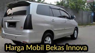 Info Harga Mobil Bekas Toyota Innova 2010 - 2015