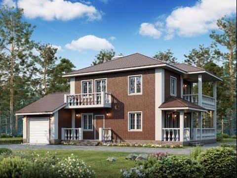Загородный 🏡 дом «под ключ»🗝не дороже чем квартира в Москве и области от Лайф Билдинг