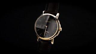 Review đồng hồ Citizen BE9173-07X vỏ máy cùng chi tiết núm vặn mạ vàng sang trọng