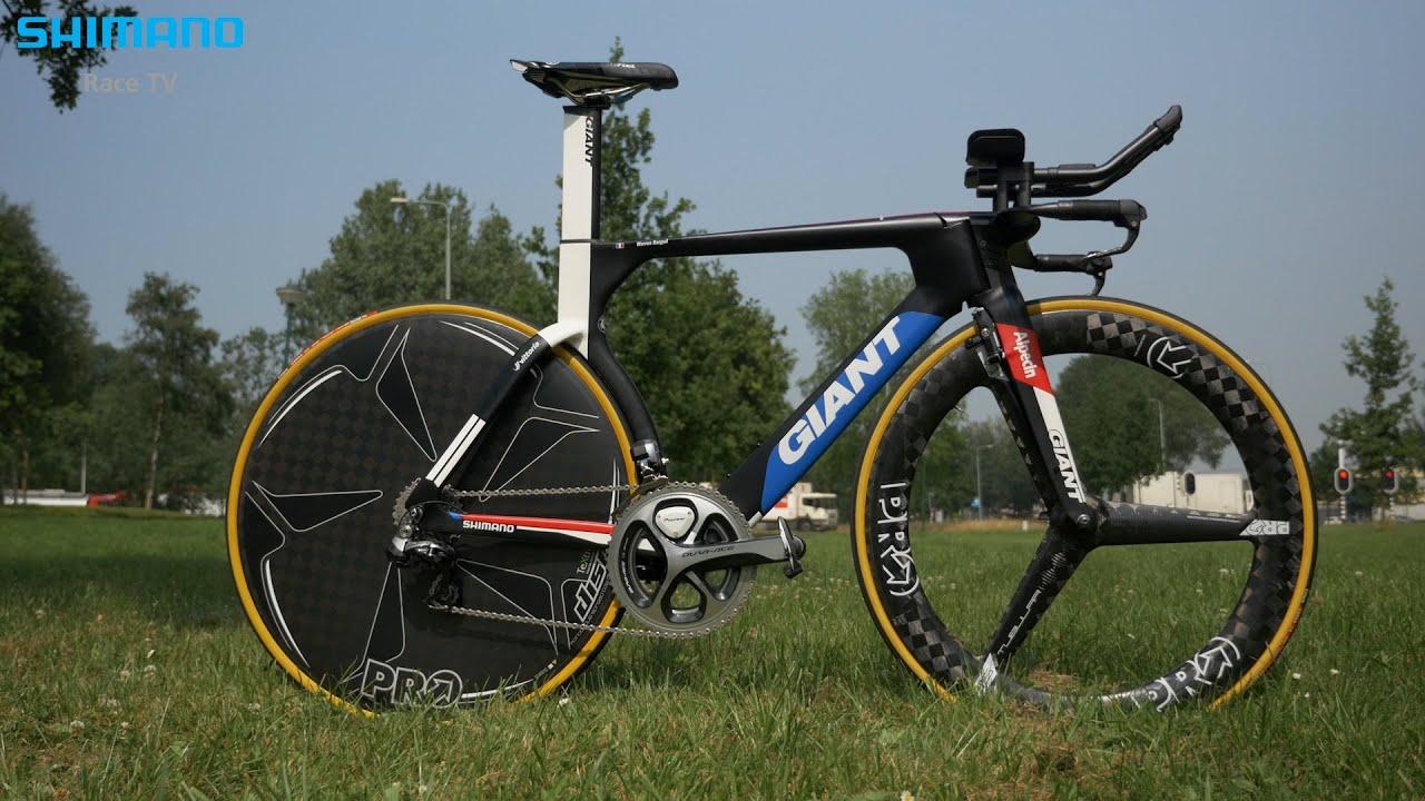 Tour De France Bikes The New Giant Trinity Tt Bike Youtube