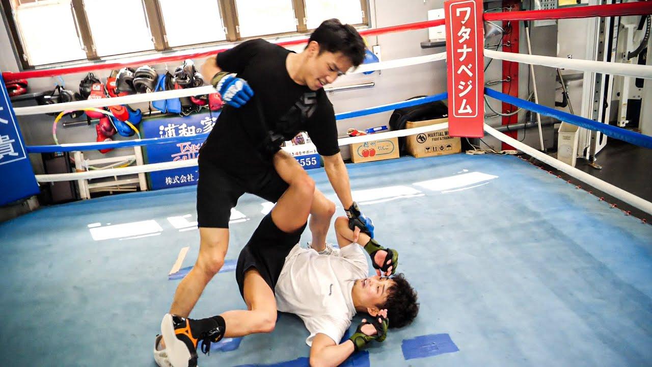朝倉海選手に総合スパーリング挑んだらフルボッコにされた...