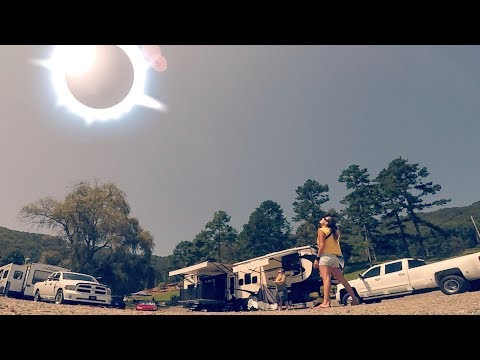 TOTAL SOLAR ECLIPSE TIME LAPSE - Hayesville North Carolina