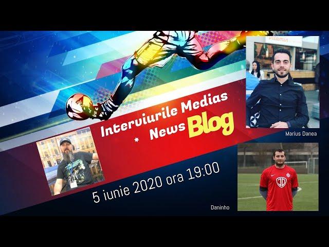 Marius Danea si Daninho la Interviurile Medias News Blog
