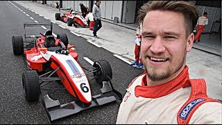 How HARD is it to DRIVE A FORMULA 3 Race CAR?!