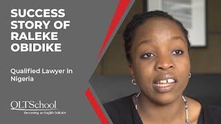 Success Story of Raleke Obidike - QLTS School's Former Candidate