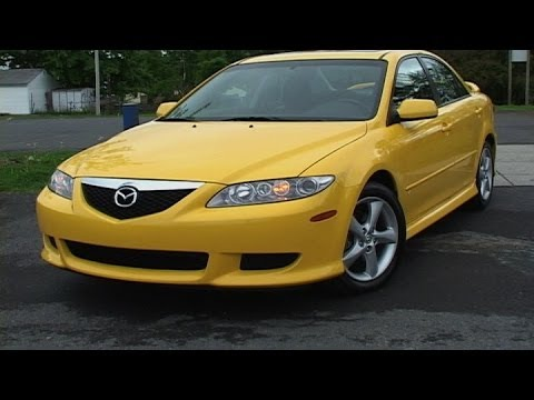 2003 2008 mazda mazda6 pre owned vehicle review youtube. Black Bedroom Furniture Sets. Home Design Ideas