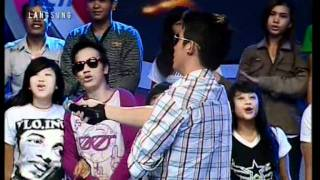 "Zaskia Sungkar & Irwansyah ""I Miss You..."",Live performed di Dahsyat (12/06)(Courtesy RCTI)"