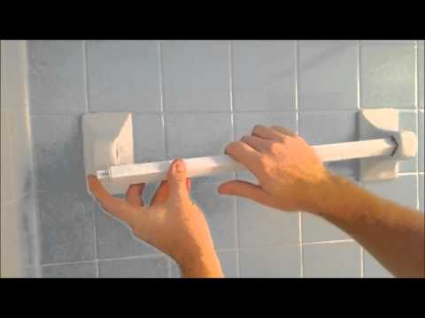 How To Install A Replacement Towel Bar