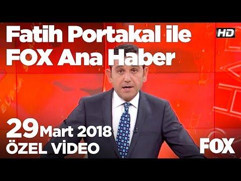 """""""Şeker Vatandır, Vatan Satılmaz!"""" 29 Mart 2018 Fatih Portakal Ile FOX Ana Haber"""